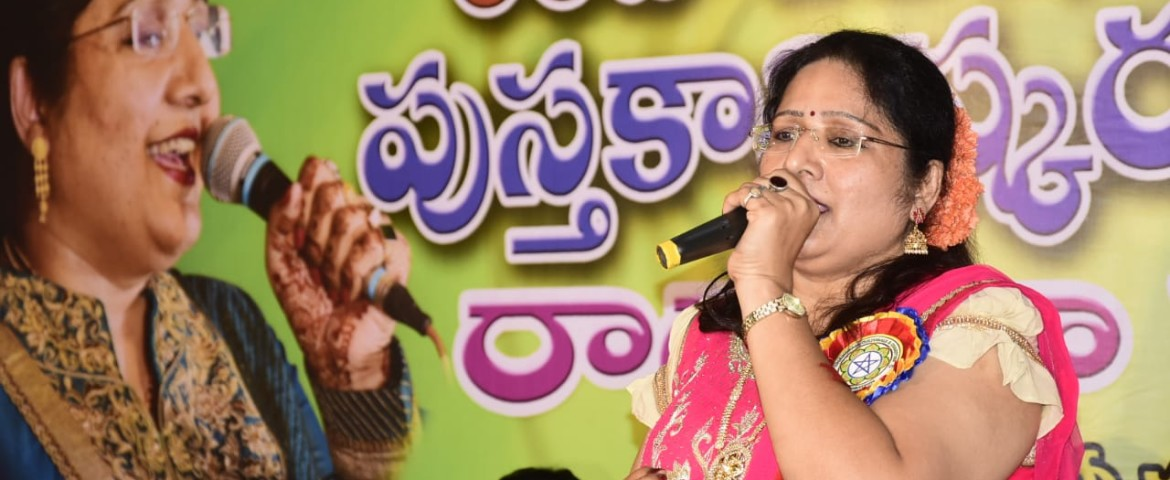 NON STOP SINGING PERFORMANCE ON 61 TELUGU SONGS FOR 270 MINUTES